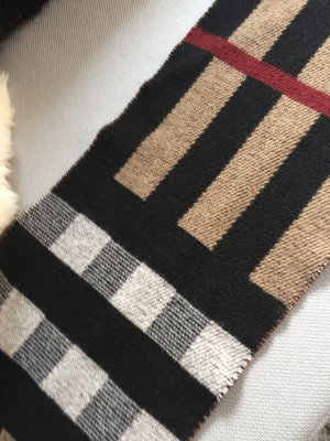 Burberry Bufanda de lana multicolor Lana