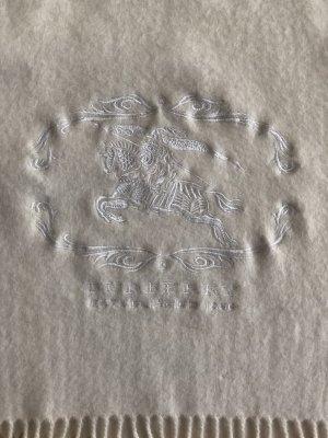 Burberry Écharpe en laine blanc cassé laine