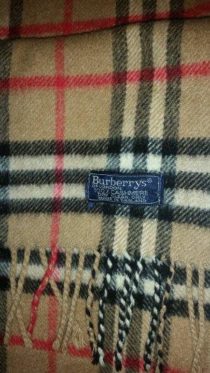 Burberry London Écharpe en cachemire cognac