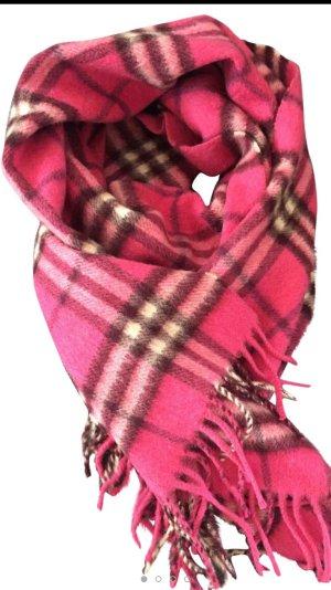 Burberry Schal aus Kaschmir in Pink