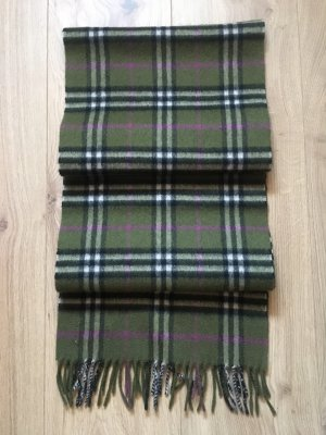 Burberry Woolen Scarf dark green