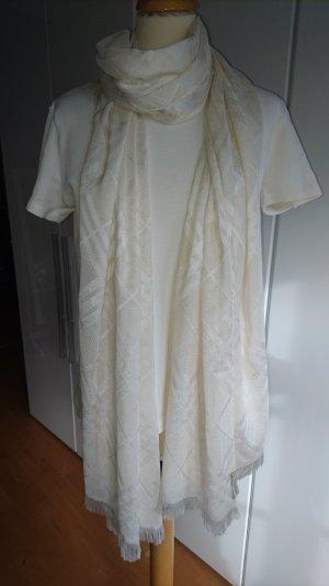 Burberry Sciarpa bianco sporco