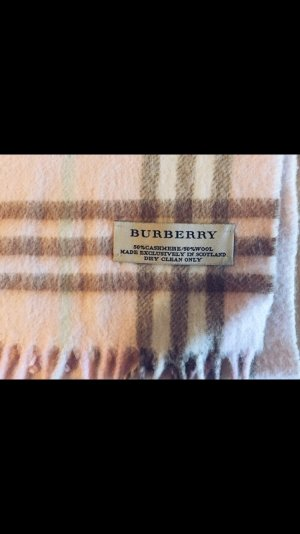 Burberry Scarf pink-camel cashmere