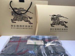 Burberry Sciarpa in cashmere grigio