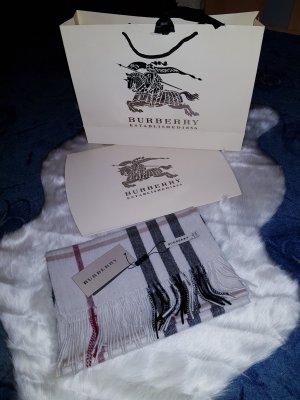 Burberry Sciarpa in cashmere bianco