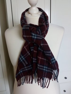 Burberry Schal Merino Wolle bordeaux