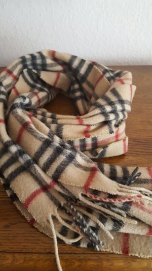 Burberry Schal, Original , Kaum getragen, Cashmere/Wolle