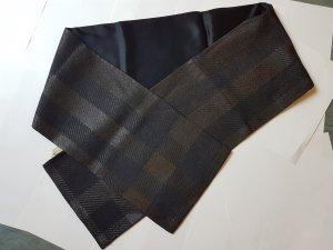 Burberry Schal Seide Wolle schwarz
