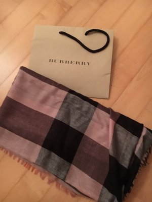 Burberry Fringed Scarf multicolored
