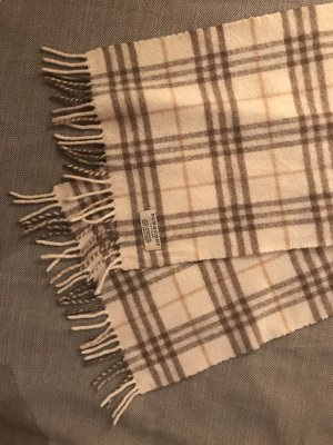 Burberry Woolen Scarf multicolored wool