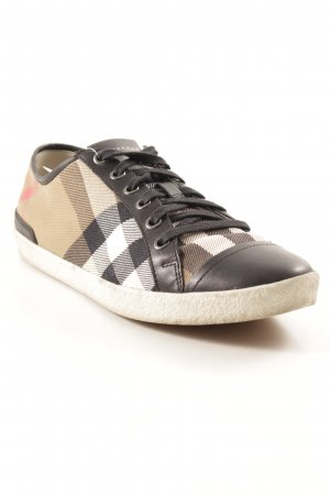 Burberry Schnürsneaker Karomuster Casual-Look