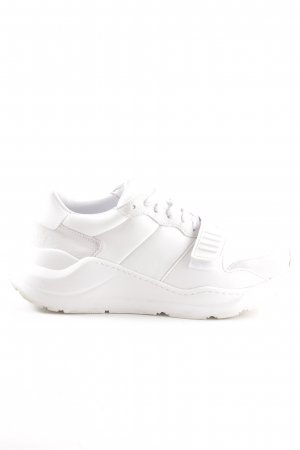 "Burberry Lace-Up Sneaker ""Regis Sneaker White"""
