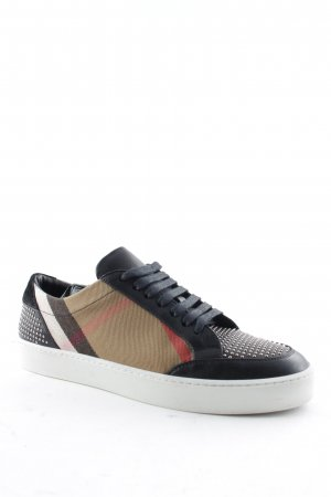"Burberry Lace-Up Sneaker ""Salmond Stud Sneaker Black 40"""
