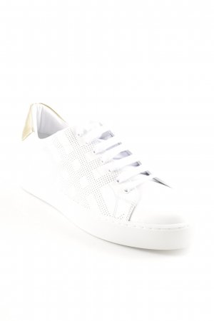 "Burberry Schnürsneaker ""Westford Sneaker Leather Optic White"""