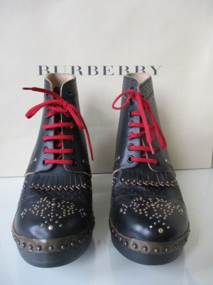 Burberry Boots black leather