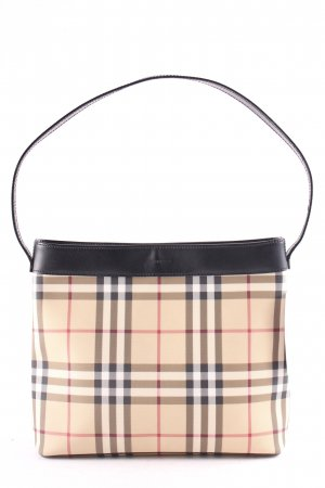 Burberry Schultertasche Glencheckmuster Vintage-Look