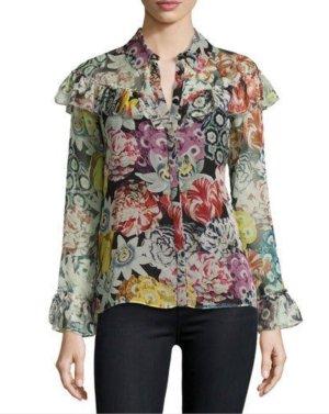 Burberry Silk Blouse multicolored silk