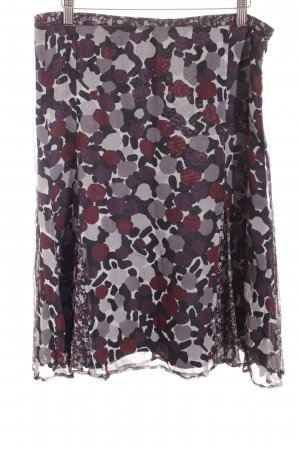 Burberry Zijden rok abstract patroon retro uitstraling