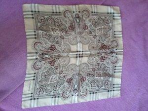 Burberry Zijden sjaal veelkleurig