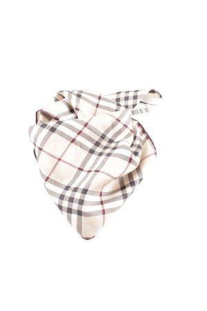 Burberry Foulard en soie motif à carreaux style d'affaires