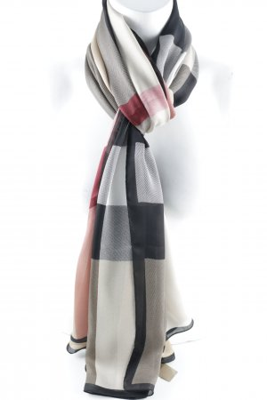 "Burberry Seidentuch ""Ultra Washed Mega Satin Checked Silk Scarf Camel"""