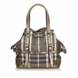 Burberry Tote zilver