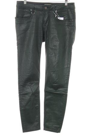 Burberry Skinny Jeans dunkelgrün Casual-Look