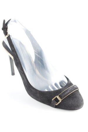 Burberry Slingback-Pumps schwarz Elegant
