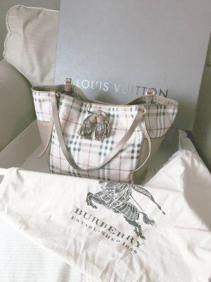 Burberry Small Haymarket Tassel Bag Tasche