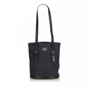 Burberry Smoke Check Tote Bag