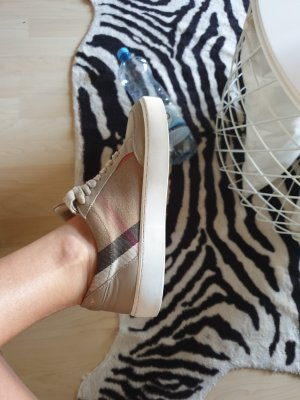 Burberry High top sneaker zandig bruin-lichtbruin