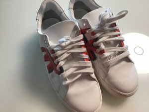 Burberry Lace-Up Sneaker white leather