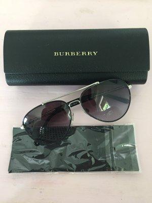 Burberry Gafas de piloto negro-color plata