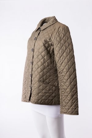 BURBERRY - Steppjacke Brit Olive