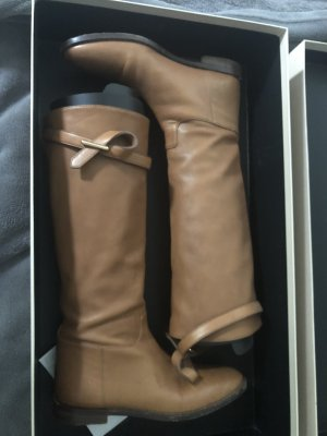 Burberry Botte haute brun