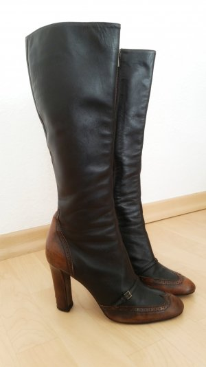 Burberry Bottes à talon multicolore cuir