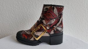 Burberry London Stivaletto con zip multicolore Pelle di rettile