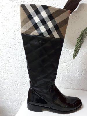 Burberry Riding Boots black