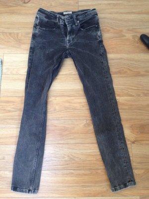 Burberry Stretch Jeans schwarz Größe 26