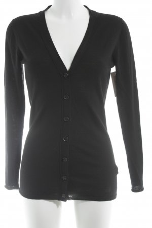 Burberry Strick Cardigan schwarz Casual-Look