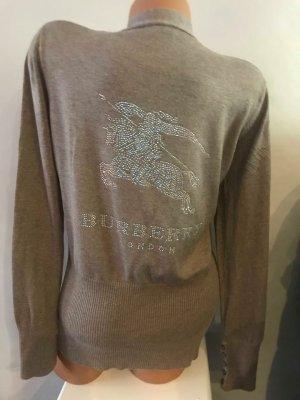 Burberry Strick Cardigan Tunika Bluse in gr 36 Farbe Beige