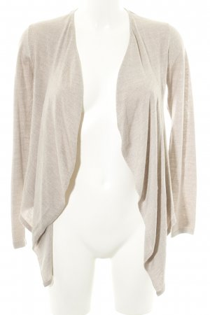 Burberry Cardigan natural white flecked casual look