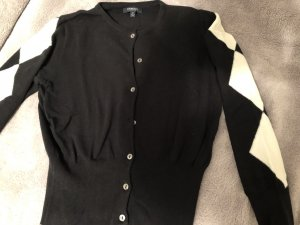 Burberry Cardigan black-white cotton