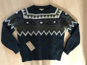 Burberry Knitted Sweater dark green