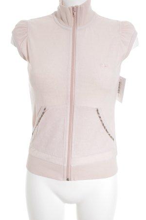 Burberry Veste sweat rosé style décontracté