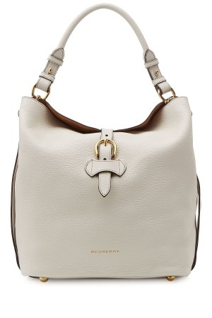 BURBERRY Sycamore Hobo Bag in naturel
