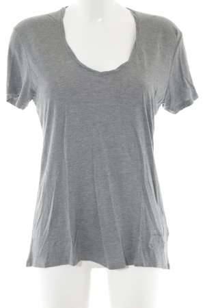 Burberry T-Shirt light grey flecked casual look