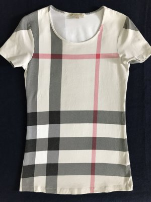 Burberry T-Shirt New Classic IP Check / XS