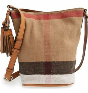 BURBERRY Tasche 100 % Original Mini Ashby Canvas