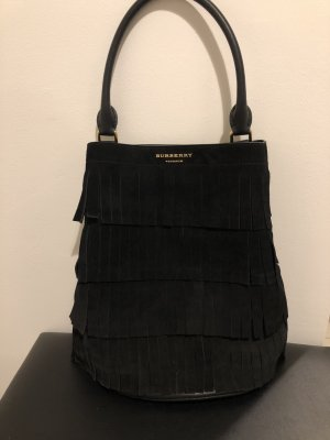 Burberry Fringed Bag black